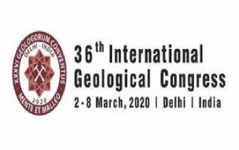 36th International Geological Congress (IGC) from 2nd to 8th March, 2020 in Delhi NCR